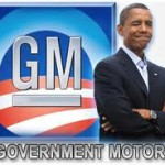 GM Bailout Govt Motors