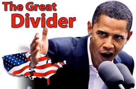 Divisive President Obama