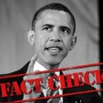Fact Check Obama