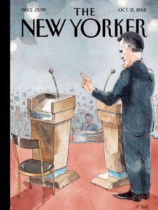 New Yorker Romney vs. Empty Chair