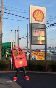 Gas Can Man Dancing at low price