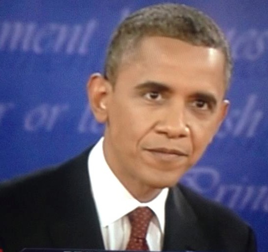 Obama Glare Angry