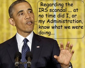 Obama IRS Scandal Didn't Know