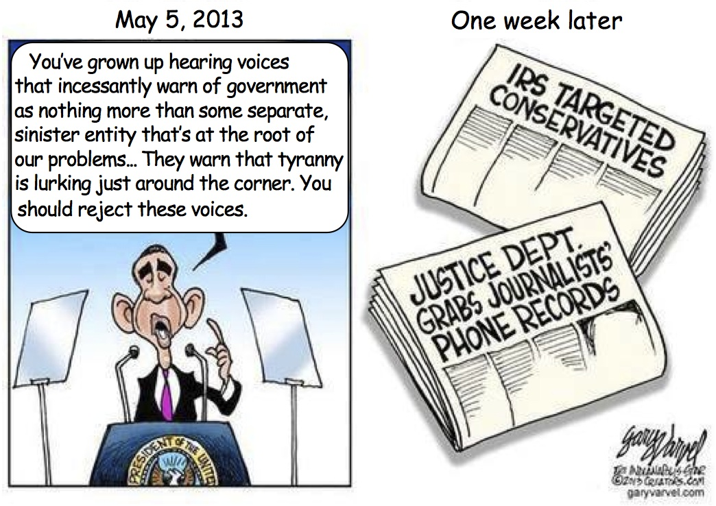 Obama Reject Voices Cartoon