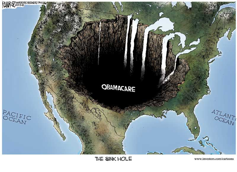 ObamaCare Sink Hole