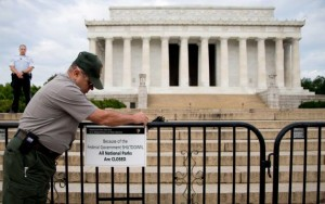 Monuments Closed Government Shutdown