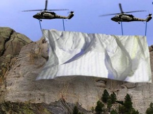 Mt Rushmore Government Shutdown