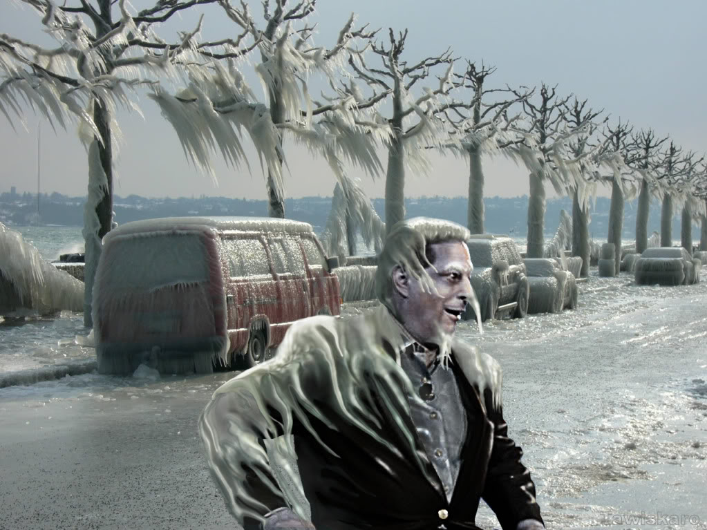 al gore frozen global warming