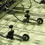 quantitative easing printing money