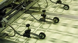 quantitative easing printing money