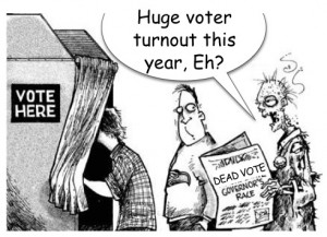 Voter Fraud Dead Vote