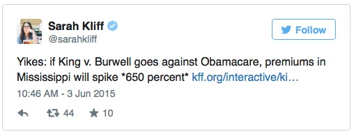 Twitter Obamacare Costs