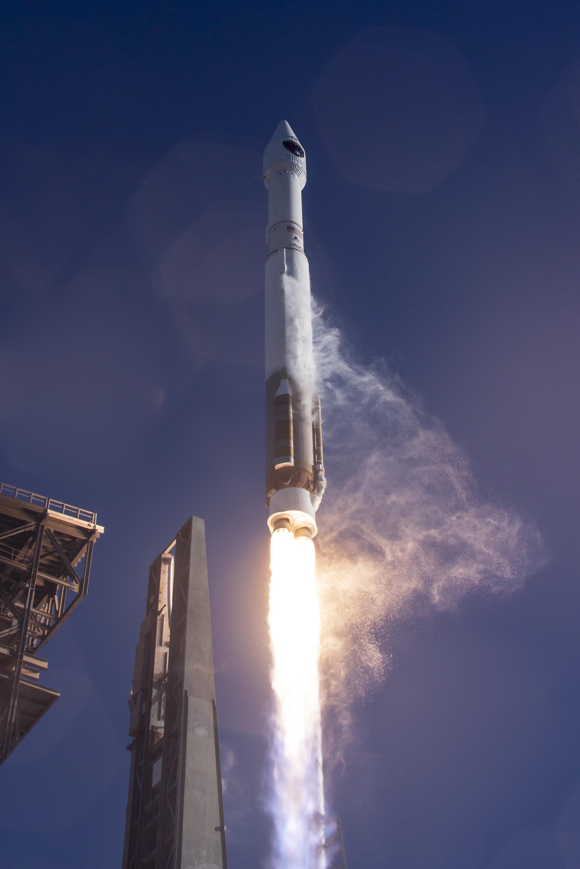 Atlas Rocket Space Launch