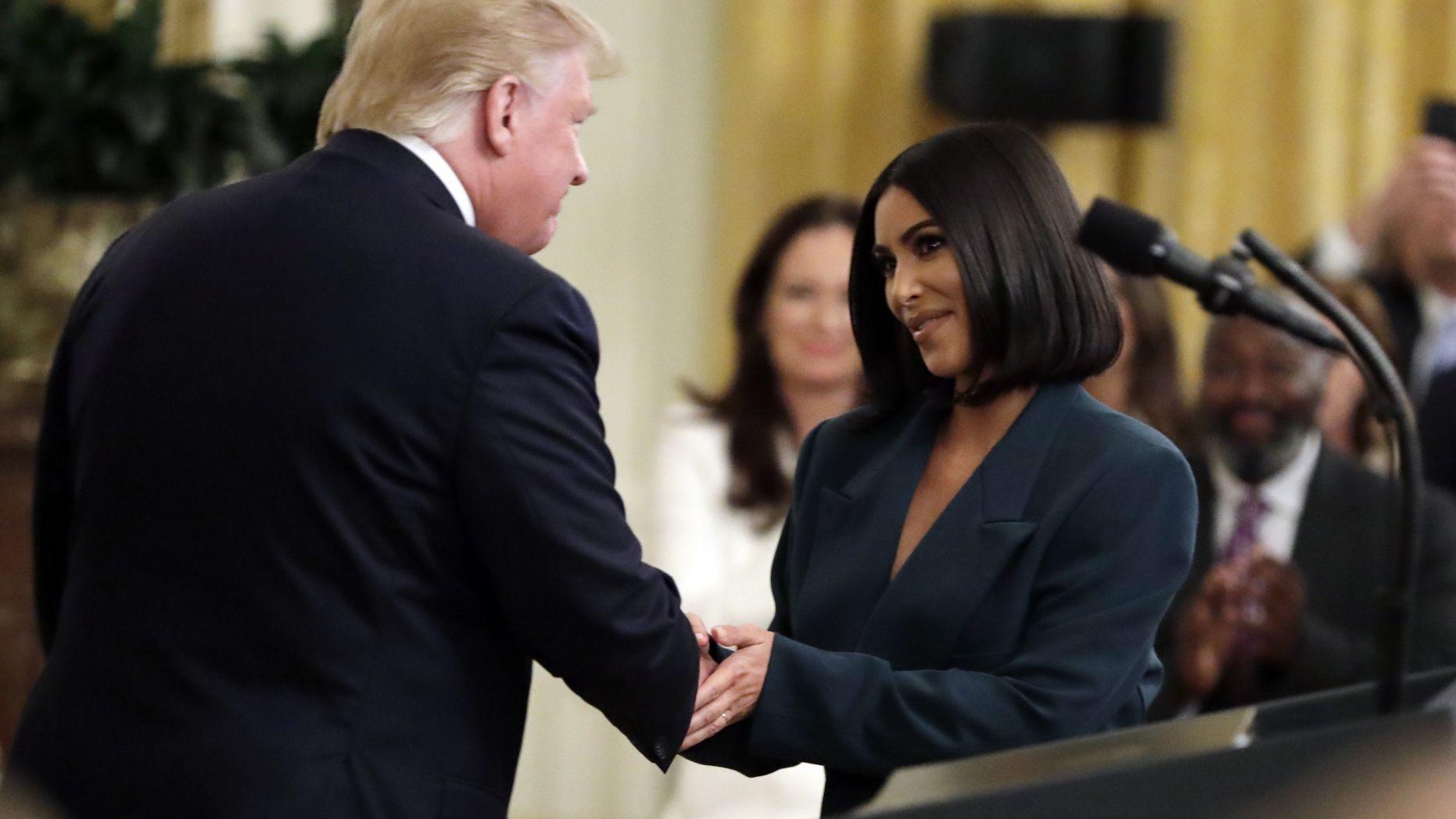 Kim Kardashian, Trump,