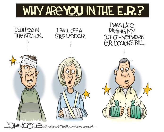 health care - surprise - bills